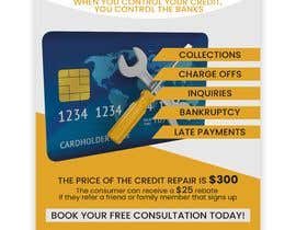 #38 for Create a flyer for credit repair by TheCloudDigital