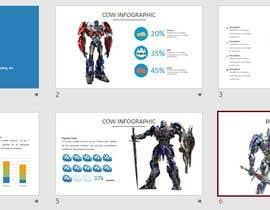 #68 untuk A powerpoint presentation for a (Transformer)Robot company oleh nhakimkamaruddin