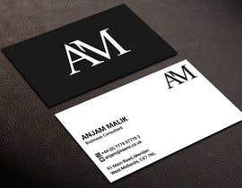 Nro 486 kilpailuun Business Card Design  - 28/02/2021 09:55 EST käyttäjältä kailash1997