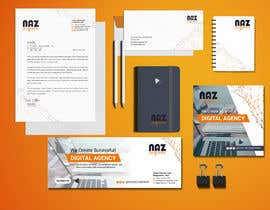 Nro 14 kilpailuun Need Corporate Identity and Stationary Design for a Digital Agency Firm käyttäjältä MonowarAnjum