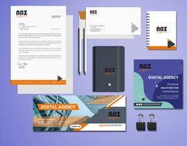#16 untuk Need Corporate Identity and Stationary Design for a Digital Agency Firm oleh MonowarAnjum