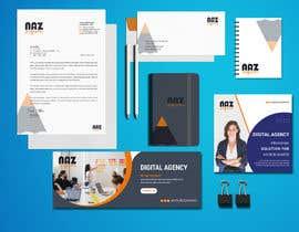 #26 untuk Need Corporate Identity and Stationary Design for a Digital Agency Firm oleh MonowarAnjum