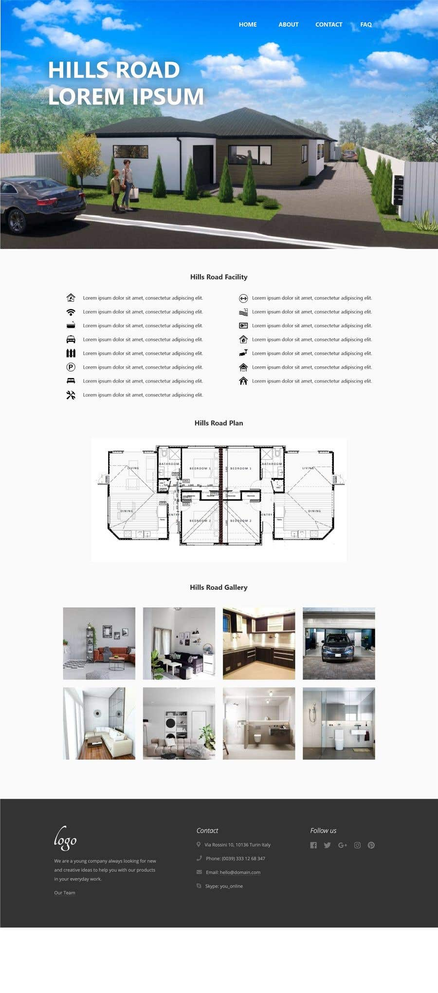 Proposition n°                                        1                                      du concours                                         One Page property summary