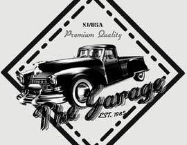 "#181 pentru Vintage Logo.  Name: ""The Garage"" / Est. 1985 Premium Quality/  NJ,USA          Use vintage retro font and create a sharp logo logo inside a shape as shown. Let's see what we can do. de către richykal75"