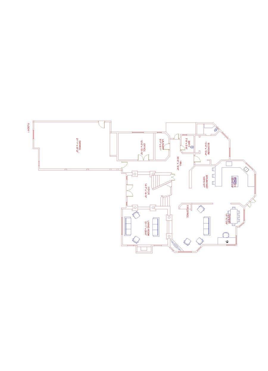 Kilpailutyö #                                        22                                      kilpailussa                                         Floor plan Redesign