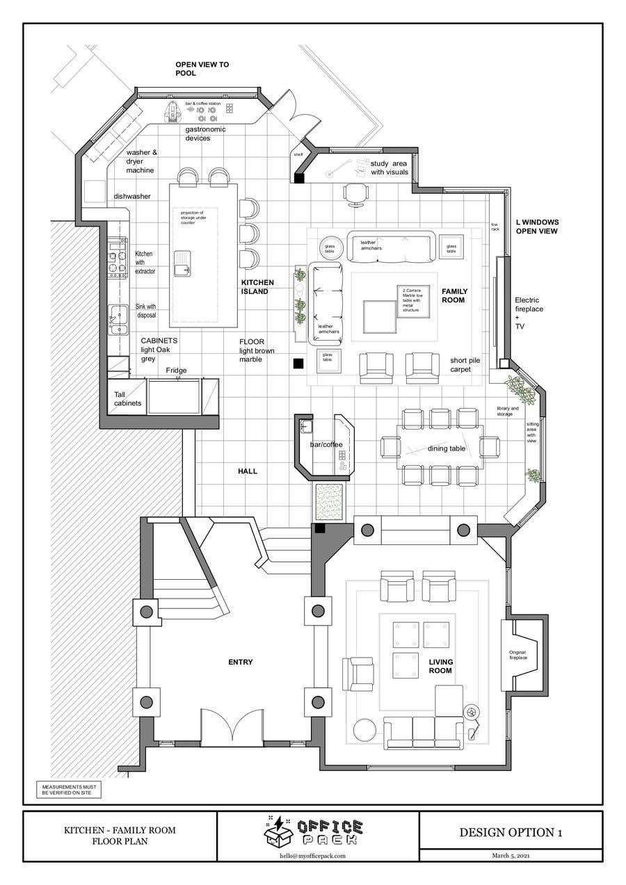 Konkurrenceindlæg #                                        28                                      for                                         Floor plan Redesign