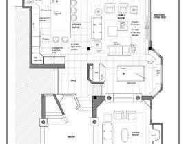 Nro 42 kilpailuun Floor plan Redesign käyttäjältä yiselaky