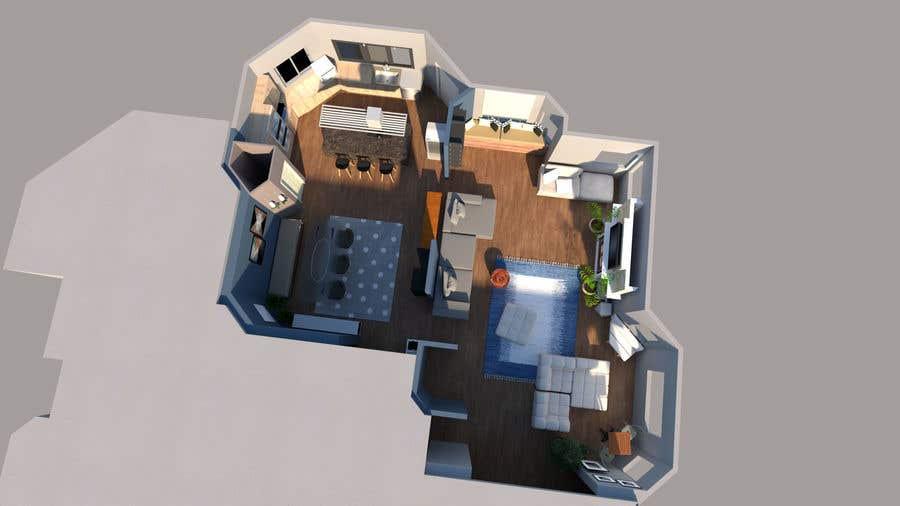 Konkurrenceindlæg #                                        38                                      for                                         Floor plan Redesign