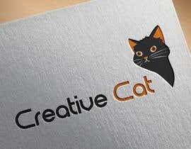 #45 untuk Creative Logo for Creative cat oleh tatyanalauden