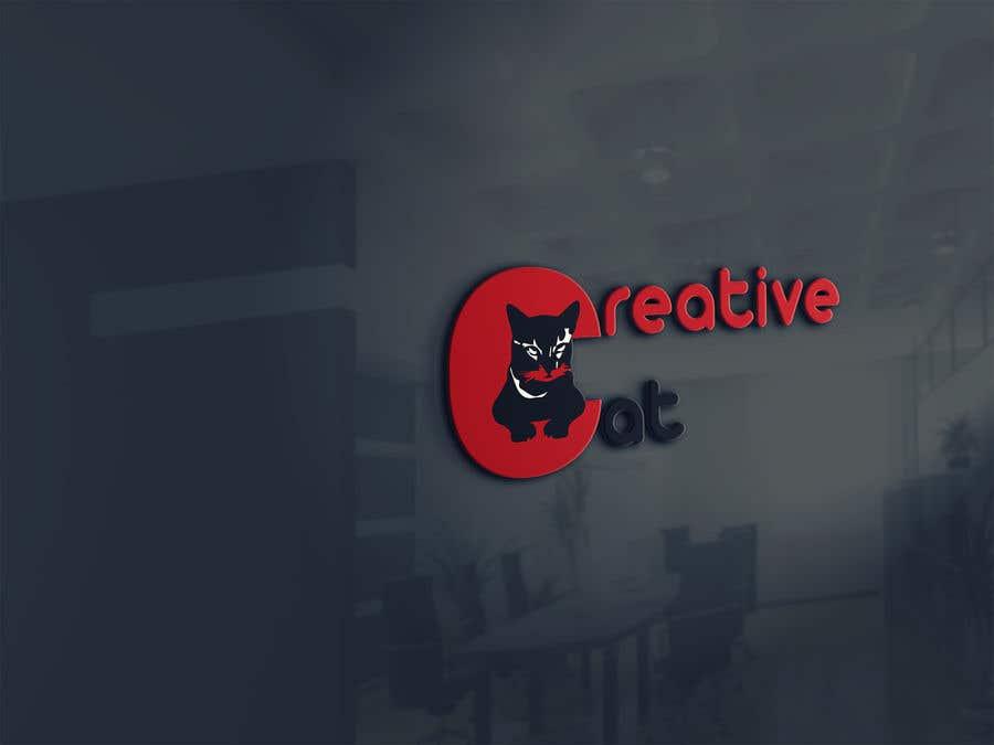 Penyertaan Peraduan #                                        54                                      untuk                                         Creative Logo for Creative cat