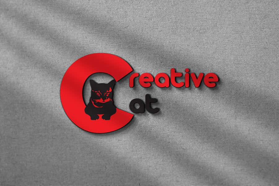 Penyertaan Peraduan #                                        55                                      untuk                                         Creative Logo for Creative cat