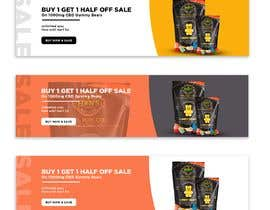 #63 for Banner for Buy 1 Get 1 Half Off  Sale on CBD Gummies by umarusmanali5