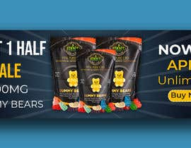 #163 for Banner for Buy 1 Get 1 Half Off  Sale on CBD Gummies by tareqrahman55