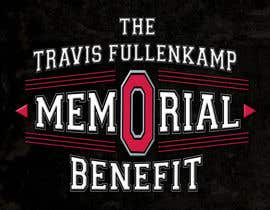 "#21 cho The event name is ""The Travis Fullenkamp Memorial Benefit"".  The theme of this event is Ohio State. Please incorporate the attached file into the logo. Colors should be gray, white, black and red. bởi samihaislam28"