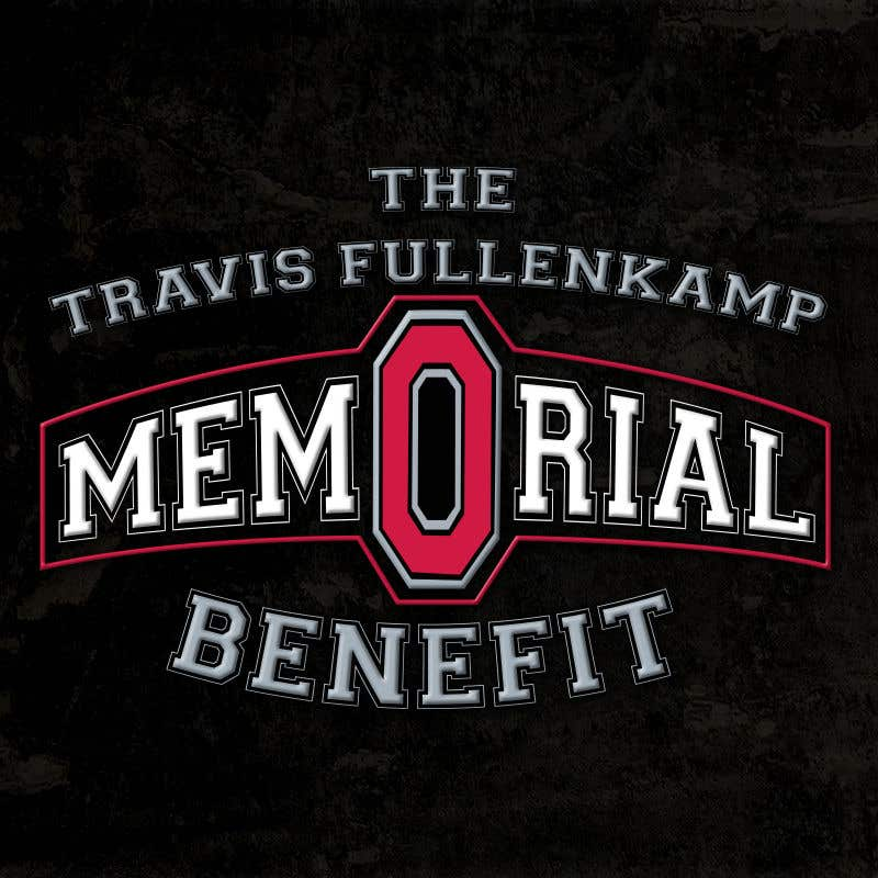 """Bài tham dự cuộc thi #                                        30                                      cho                                         The event name is """"The Travis Fullenkamp Memorial Benefit"""".  The theme of this event is Ohio State. Please incorporate the attached file into the logo. Colors should be gray, white, black and red."""