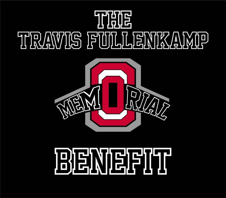 "Bài tham dự cuộc thi #                                        5                                      cho                                         The event name is ""The Travis Fullenkamp Memorial Benefit"".  The theme of this event is Ohio State. Please incorporate the attached file into the logo. Colors should be gray, white, black and red."