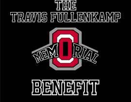"#5 cho The event name is ""The Travis Fullenkamp Memorial Benefit"".  The theme of this event is Ohio State. Please incorporate the attached file into the logo. Colors should be gray, white, black and red. bởi akterlaily2005"