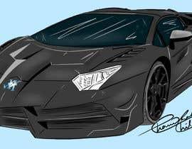 nº 13 pour Create an illustration or a cartoon-ish car par cchilcuri