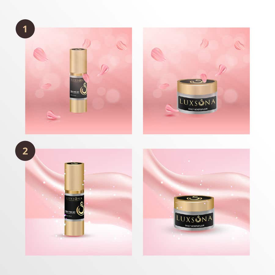 Kilpailutyö #                                        12                                      kilpailussa                                         Create images similar to the ones on Dior Instagram page for my skincare product.
