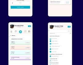 #81 untuk Redesign my mobile layout for my web app oleh SAUHBA