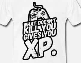 #124 untuk Gaming T-Shirt's oleh aga5a33a4b358781