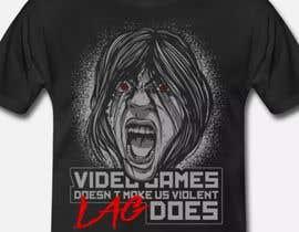 #125 untuk Gaming T-Shirt's oleh aga5a33a4b358781