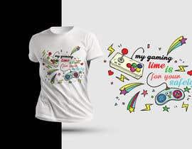 #14 untuk Gaming T-Shirt's oleh shaowna21