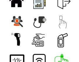 #7 for Medical Sensor Icons by poudelsanskar8