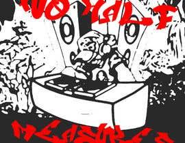 """#19 pentru Urban graffiti style graphic """"Old Skool"""" ravers de către martinamas094"""