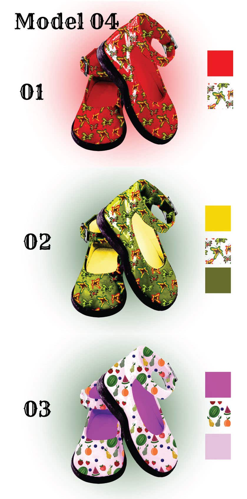 Contest Entry #                                        15                                      for                                         New Shoes design for Kids - Design 3-4 models