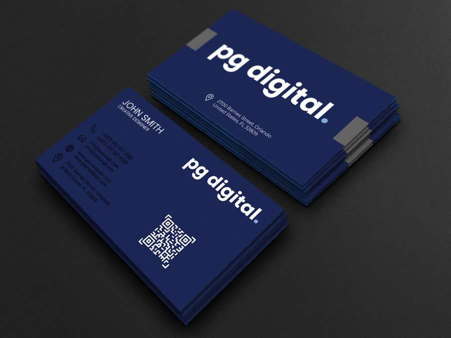 Bài tham dự cuộc thi #                                        54                                      cho                                         Business Card Design - PG