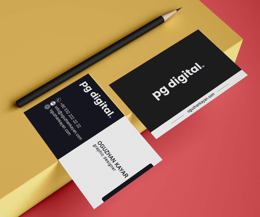 Bài tham dự cuộc thi #                                        124                                      cho                                         Business Card Design - PG