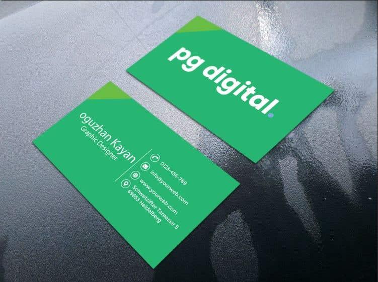 Bài tham dự cuộc thi #                                        118                                      cho                                         Business Card Design - PG