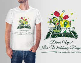 #80 cho Pickle Ball Wedding T Shirt Logo bởi bobanlackovic