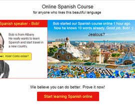 #9 for Online Spanish Course - Landing Page af maripoo