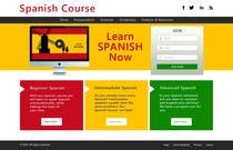 Copywriting Contest Entry #12 for Online Spanish Course - Landing Page