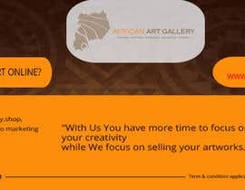 #16 for design a banner of an art gallery inviting artist to advertise on the marketplace af creativetanim525