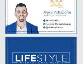 #52 untuk Alexis Valladares - Business Card Design oleh alaminkhan1474