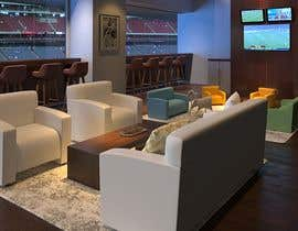 LeandreH tarafından Luxury Sport Suite Environment Rendering with our Soft-Seating Products için no 11