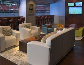 LeandreH tarafından Luxury Sport Suite Environment Rendering with our Soft-Seating Products için no 14