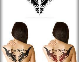 Nro 58 kilpailuun Free Spirit tattoo design käyttäjältä BahuDesigners