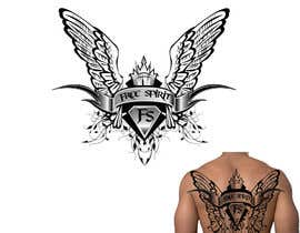 nº 24 pour Free Spirit tattoo design par Power5