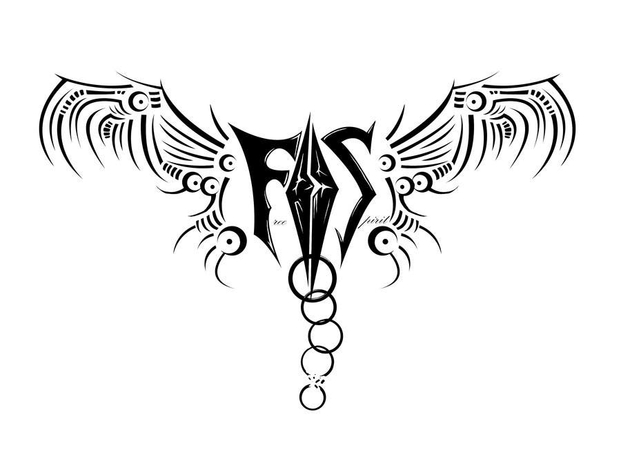 Entry 22 By Teching For Free Spirit Tattoo Design Freelancer