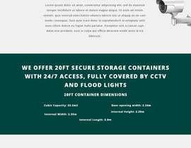 #23 untuk Build me a website for my storage container business. oleh jaiswalramlakhan