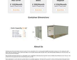 #8 untuk Build me a website for my storage container business. oleh maaansaab