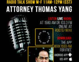 #140 for Talk Show Flyer Design by asifaizan123