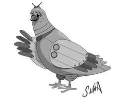 #29 untuk Create a robot bird cartoon oleh sunagoktuna