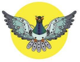 #32 untuk Create a robot bird cartoon oleh utteeya100