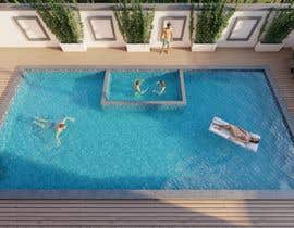 Nro 31 kilpailuun Pool Design with and without Spa käyttäjältä Ireoluwatomiwa