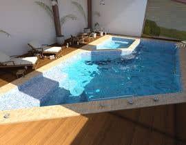 Nro 38 kilpailuun Pool Design with and without Spa käyttäjältä chihebcherif